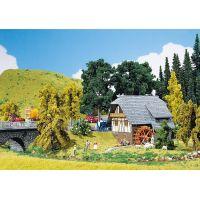 Faller 130387 Fekete-erdei ház vízimalommal