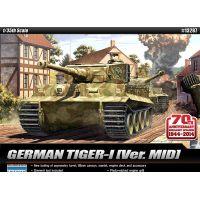 Academy 13287 TIGER-I Normandia kiadás