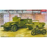 Academy 13408 1/72 M3 US HALF TRACK