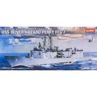Academy 14102 1/350 USS OLIVER HAZARD PERRY FFG-7