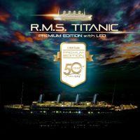 Academy 14226 RMS Titanic 1:400 Prémium szett + LED