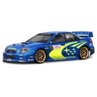 HPI 17505 Subaru Impreza  WRC 2004 festetlen karosszéria 200 mm