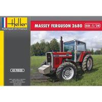 Heller 81402 Massey Ferguson 2680 Traktor makett