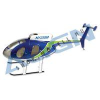 250 Scale Fuselage 500E