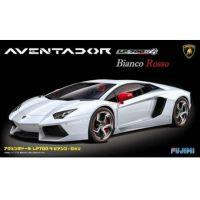 FUJIMI Lamborghini Aventador LP700-4 Bianco-Rosso