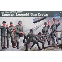 Leopold löveg kezelő személyzet