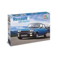 3651S ITALERI Renault 5 Alpine 1/24