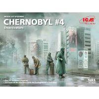 ICM 35904 Csernobil Likvidátor figurák és utca részlet