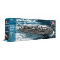 Italeri 5620 TYP S-38 Schnellboot with Bofors