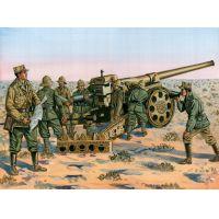 Italeri 6165 WWII. Olasz 149/49 löveg személyzettel