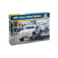 Italeri 6535 LMV LINCE UNITED NATIONS
