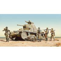Italeri 6543 CARRO ARMATO M14/41 I SERIE with Italian Infantry