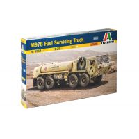 Italeri 6554 M978 Fuel Servicing Truck