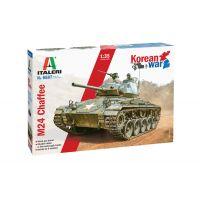 Italeri 6587 M24 Chaffee harckocsi makett
