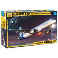 7017 Zvezda Airbus A-321  1/144