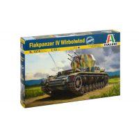 Italeri 7074 Flakpanzer IV Wirbelwind