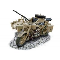 Italeri 7403 German Milit. Motorcycle with Sidecar