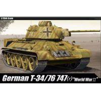 Academy 13502 German T34/76 harckocsi makett