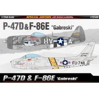 Academy 12530 P-47& F-86E Gabreski