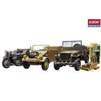 Academy Világháborús jármű szett