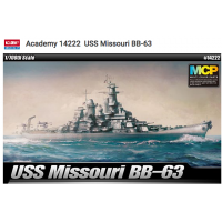 Academy 14222 USS Missouri BB-63