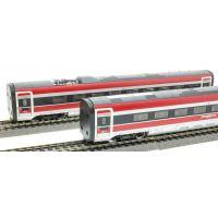 ACME 70202 Kiegészítő kocsiszett ETR 400 Frecciarossa 1000 villamos motorvonathoz, FS VI, 1. készlet