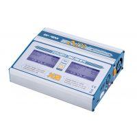 EV-PEAK AD1 Nagy teljesítményű, érintőkijelzős duál töltő (110-220V/12V, 2x10A, 2x100W) LiHv/LiPo/LiFe/Li-ion/Ni-Cd/NiMH/Pb