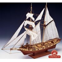 Constructo 80702 Albatros vitorlás, fa hajómakett