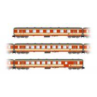 """Arnold HN4248 3db Személykocsi """"Schlieren"""" ÖBB, """"K2-design"""", contains 1 x 1o. BR-, 1 x 2o. BR and 1 x 2o. BR Személykocsi with luggage sector"""
