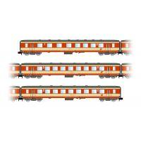"""Arnold HN4249 3db Személykocsi """"Schlieren"""" ÖBB, """"K2-design"""", contains 1 x 1o./2o. BR and 2 x 2o. BR Személykocsi"""
