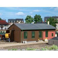 Auhagen 11332 Kétállásos fűtőház