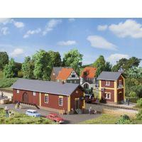 Auhagen 11435 Állomás Steinbach víztároló épülettel