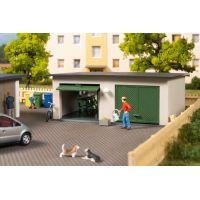 Auhagen 11456 Lakótelepi garázs, dupla