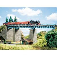 Auhagen 13325 Ívelt vasúti acélhíd