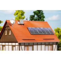 Auhagen 41651 Háztetőre szerelhető napelemek, napkollektorok, parabolaantennák