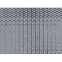 Auhagen 52423 Dekorlap, térkő, szürke, 100 x 200 mm
