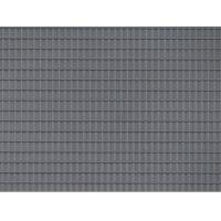 Auhagen 52426 Dekorlap, cseréptető, szürke, 100 x 200 mm