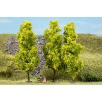 Auhagen 70939 Lombos fák, világoszöld, 15 cm, 3 db