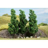 Auhagen 70940 Lombos fák, sötétzöld, 15 cm, 3 db