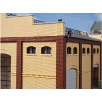Auhagen 80215 Ablak gyárépülethez, barna, 20 db