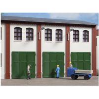 Auhagen 80253 Lemezajtó gyárépülethez, 6 db