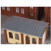 Auhagen 80306 Lemeztető gyárépülethez, 2 db, 143 x 63 mm
