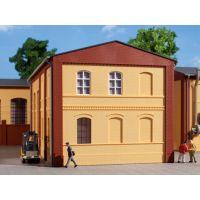 Auhagen 80601 Téglafal, 2324B, sárga