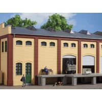 Auhagen 80619 Téglafal, 2410E/2410F/2410H, sárga