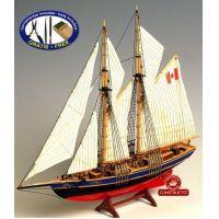 Bluenose II , fa hajó makett