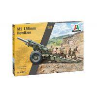 Italeri 6581S M1 155mm Howitzer