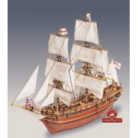 HMS Bounty fa hajó, vitorlás makett