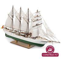 Constructo 80568  J. S. Elcano fa/műanyag maketthajó