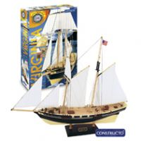 Constructo 80567 Virginia vitorlás, fa hajómakett