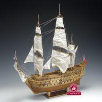 Constructo 80839 H.M.S. Prince vitorlás, fa hajómakett